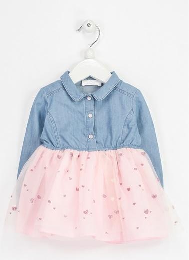 Locopop Elbise İndigo